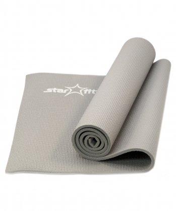 Коврик для йоги FM-101 PVC 173x61x1,0 см, серый