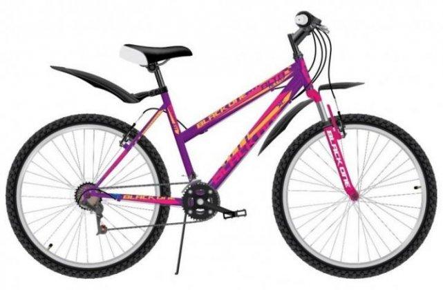 Велосипед Black One Alta 26 Alloy фиолетово-розовый