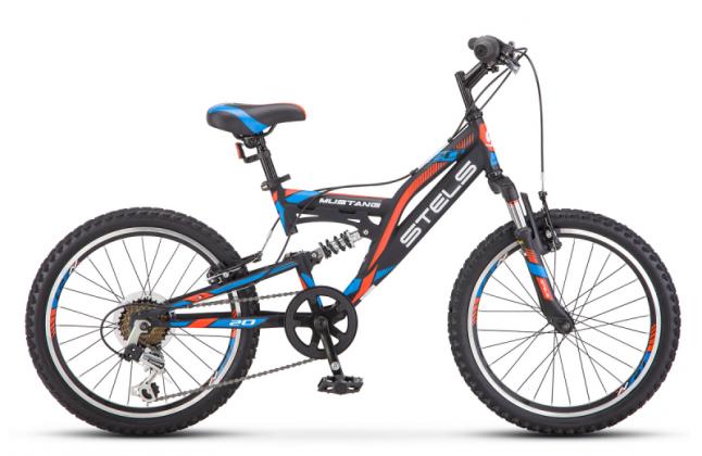 Велосипед 20 Stels Mustang V010 6-ск