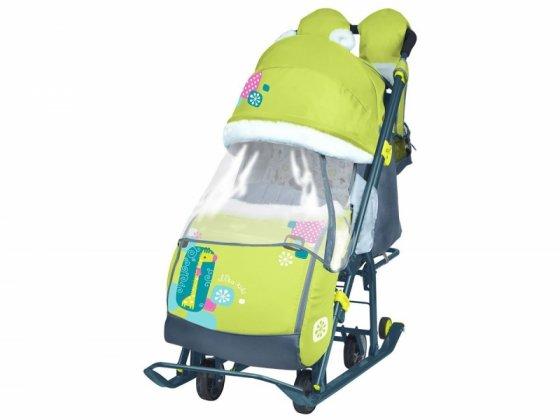 Санки-коляска детские Ника Детям 7-2