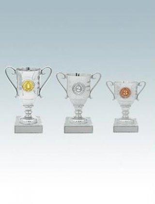 Кубок 11,5 см серебро KM1462c