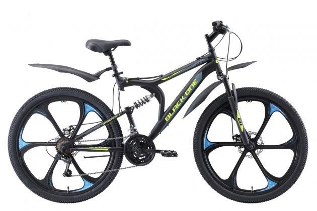 Велосипед Black One Totem FS 26 D FW