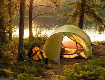 одноместная палатка фото