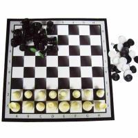 Набор 3 в1 (шашки,шахматы,нарды) 37*18,5*5 см 101