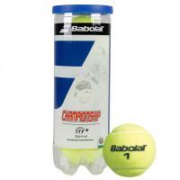 Мяч теннисный BABOLAT Championship 3B,арт.501039, уп.3шт,одобр.ITF,сукно,нат.резина,желт