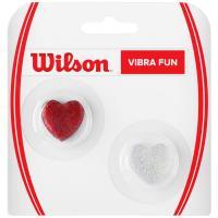 Виброгаситель Wilson Vibra Fun, арт.WRZ537100, красно-серебристый