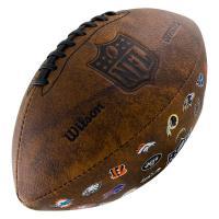"""Мяч для ам. футбола """"WILSON NFL 32 Team Logo"""" арт.WTF1758XBNF32, синт.  кожа. лого. команды Raiders"""
