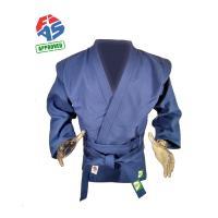 """Куртка для самбо """"GREEN HILL"""" арт. JS-303-40-BL, р.40/150, одобр. FIAS, хлопок, синяя"""