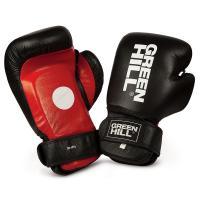 """Лапы-перчатки боксерские """"GREEN HILL SOLAR"""" арт. CMS-5014, иск. кожа ПУ, черно-красно-белые"""