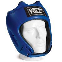 "Шлем ""GREEN HILL ALFA"" арт. HGA-4014-L-BL, р.L, иск. кожа ПУ, синий"