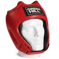 "Шлем ""GREEN HILL ALFA"" арт. HGA-4014-XL-RD, р.XL, иск. кожа ПУ, красный"