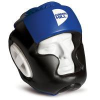 """Шлем """"GREEN HILL POISE"""" арт. HGP-9015-L-BL, р.L, иск. кожа ПУ, черно-синий"""