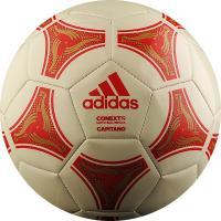 "Мяч футб. ""ADIDAS Conext 19 Capitano""арт.DN8640,р.5, 32 пан, ТПУ, маш. сшив, бежево-красный"