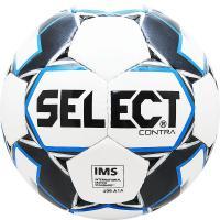 "Мяч футб. ""SELECT Contra IMS"" арт. 812310-102, р.5, IMS, 32пан, гл.ПУ, руч.сш, бело-черн-син"