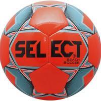 "Мяч для пляж. футб. ""SELECT Beach Soccer"" арт. 815812-662, р.5, 6п, ТПУ, маш.сш, оранж-голуб"