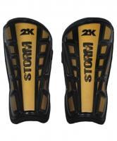 Щитки футбольные 2K storm gold/black 127322
