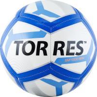 """Мяч футб. сув. """"TORRES BM1000 Mini"""" арт.F31971, д.16 см, ТПУ, маш. сш, бело-сине-черный"""