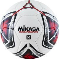 """Мяч футб. """"MIKASA REGATEADOR4-R"""", р.4, 32пан, гл. ПВХ, руч.сш, лат.кам, бело-черн-красный"""