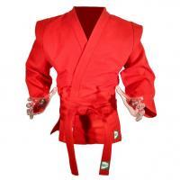 "Куртка для самбо ""GREEN HILL MASTER"" арт. SC-550-48-RD, р.48, одобр. FIAS, 100% хлопок, красная"