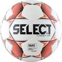 """Мяч футб. """"SELECT Target DB"""" арт. 815217-106, р.5, IMS,32п, ПУ, терм+маш.сш, бело-крас"""