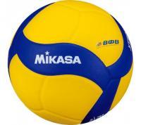 """Мяч вол. утяж. """"MIKASA VT500W"""", р 5, синт.кожа, вес 500г, клееный, сине-желтый"""