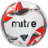 "Мяч футзал. ""MITRE Futsal Tempest II"" арт.BB9302WYI,р.4,32 пан,глян.ПВХ,руч.сш, бут.кам,бел-кр-черн"