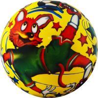 """Мяч детский  """"Веселый футбол"""", арт.DS-PP 089,  диам. 23 см, пластизоль, синий"""