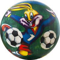 """Мяч детский  """"Веселый футбол"""", арт.DS-PP 167,  диам. 23 см, пластизоль, синий"""