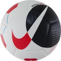 """Мяч футзал """"NIKE Pro"""" арт.SC3971-102, р.4, 12пан, мат. ТПУ, FIFA PRO, маш.сш, бело-черно-красный"""