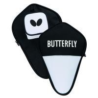 Чехол для ракетки Butterfly Cell Case I, арт.85112, нейлон, с наклад.карманом, черно-белый
