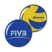 """Монета для жеребьевки """"MIKASA TCVA"""", сине-желтый"""