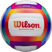 """Мяч вол. """"Wilson Shoreline"""" арт. WTH12020XB, р.5, 18 панелей, синт.кожа PVC, маш.сшивка, мультиколор"""