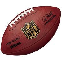 """Мяч для ам. футбола """"WILSON Duke Replica"""" арт.WTF1825XB, синт. кож PU, бут. кам, руч. сшив, корич."""