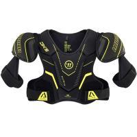 """Защита груди/плеч """"WARRIOR ALPHA DX5 SR Shoulder Pads"""" арт.DX5SPSR9-L,р.L,пласт.,синт.пен,пол.,чер"""