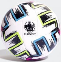 """Мяч футб. """"ADIDAS UNIFORIA CLUB""""арт.FH7356,р.5, 18 пан, ТПУ, маш. сшив, бело-черно-зелено-синий"""