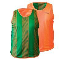 """Манишка  детская """"TORRES"""" двухсторонняя, арт.TR11949O/G, р.Jr, тренировочная, полиэстер, оранж-зелен"""