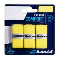 Овергрип BABOLAT Pro Tour X3, арт.653037-113, упак. по 3 шт, 0.6 мм, 115 см, желтый