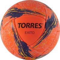 """Мяч футбольный """"TORRES Exito"""" арт.F32055, р.5, 16 панелей. PU, руч. сшивка, оранжевый"""