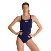 """Купальник """"ARENA Solid Swim Pro"""", арт.2A242 055, р.42 (рос.48), 100% полиэстер, черный"""