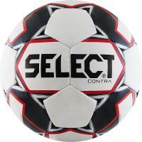 """Мяч футб. """"SELECT Contra"""" арт. 812310-103, р.4,  32 панели, гл.ПУ, руч.сш, бело-черн-красн"""