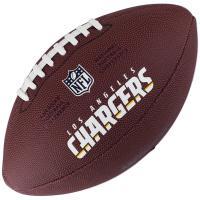"Мяч для ам. футбола ""WILSON NFL Team Logo"" арт.WTF1748XBLAC, синт.  кожа., лого  NFL, т.-коричневый"