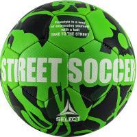 "Мяч футб. ""SELECT Street Soccer"" арт. 813120-444, р.5, 32пан., резина, маш.сш., лат.камера, зел-черн"