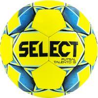 "Мяч футзал. ""SELECT Futsal Talento 13"" арт. 852617-552, р.3, 32 пан, гл.ТПУ, маш.сш, жел-син-гол-чер"