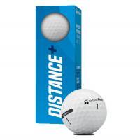 """Мяч для гольфа """"TaylorMade Distance +"""", арт.N7608601, 3 шт в упак., для игры на дальн.дист., белый"""