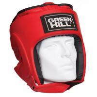 """Шлем """"GREEN HILL PRO"""" арт. HGP-4015-L-RD, р.L, иск. кожа ПУ, красный"""