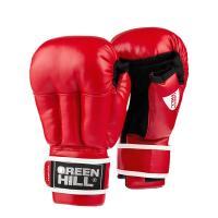 """Перчатки для рукопашного боя """"GREEN HILL"""" арт. PG-2047-L-RD, р.L, иск. кожа, красные"""