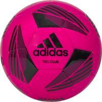 "Мяч футб. ""ADIDAS Tiro Club"" арт. FS0364, р.4, ТПУ, 32 пан., маш.сш., розово-черный"