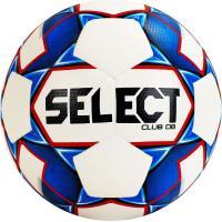 """Мяч футб. """"SELECT Club DB"""" арт. 810220-002, р.5, IMS, 32п, ТПУ, термо+руч. сш, бело-сине-крас"""