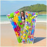 44021 Матрас для плавания 183х76 см Цветы