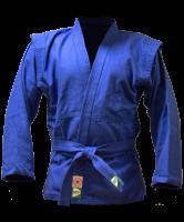 Куртка для самбо JS-302, синяя, р.1/140 Green Hill